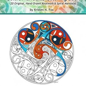 Celtic Mandalas Coloring Book: 20 Original, Hand-Drawn Celtic Mandalas