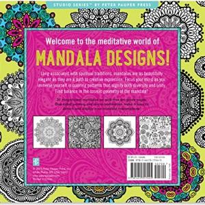 Mandala Designs Adult Coloring Book (31 stress-relieving designs) (Studio)