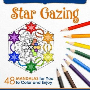 Star Gazing: 48 Mandalas for You to Color & Enjoy (Magical Design Coloring Books) (Volume 2)