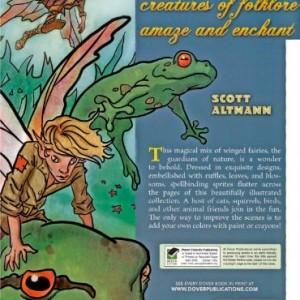 Fairy Fashion (Dover Coloring Books)