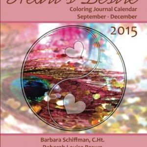 Heart's Desire 2015 Coloring Journal Calendar
