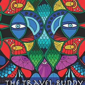 The Travel Buddy: Adult coloring book and travel journal