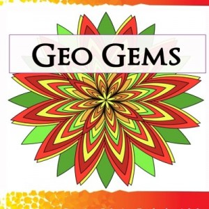 Geo Gems Three: 50 Geometric Design Mandalas Offer Hours of Coloring Fun! Everyone in the family can express their inner artist!