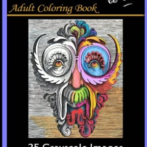 Renaissance Masks to Color: 25 Grayscale Images: Adult Coloring Book (Adult Coloring Books) (Volume 2)