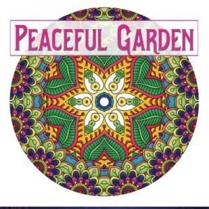 Peaceful Garden: Life Began In A Garden: A Creative Coloring Book for the Family! Take a walk through these garden-creature inspired coloring pages