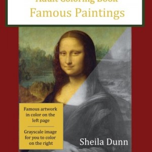 Famous Paintings: Adult Coloring Book