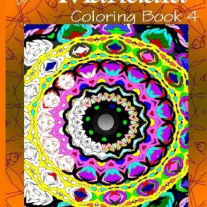 Detailed Mandala Coloring Book 4 (Mandala Coloring Books) (Volume 4)