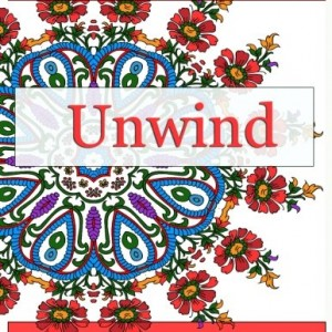 Unwind: Relax and give your inner artist free reign with 30 original, one-of-a-kind mandala and repeating pattern designs! Relax and Unwind from the stress of the day!